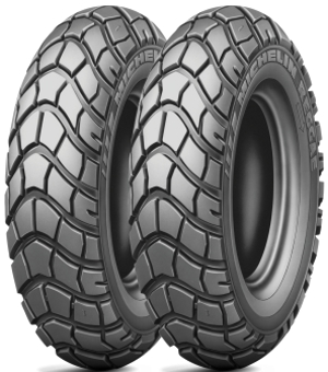 scooter 130/90-10 61J Reggae (F/R) TL Michelin