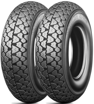 scooter 3.00-10 42J S83 (F/R) TL/TT Michelin